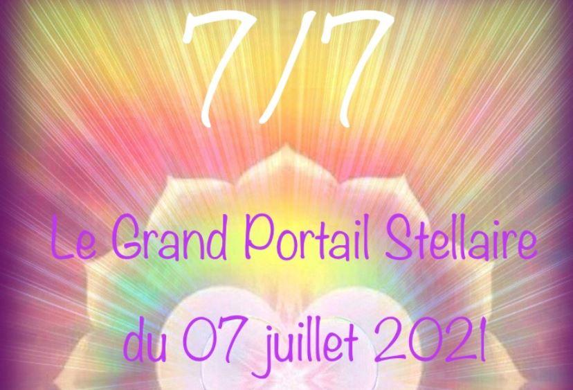 LE GRAND PORTAIL STELLAIRE DU 07 JUILLET 2021 : 7/7 – Presse Galactique